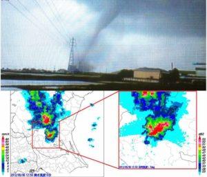 2012年5月6日の茨城県の気象