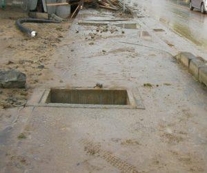 資料画像:平成21年兵庫県佐用町の水害